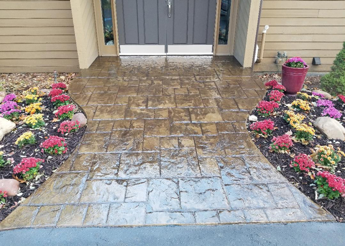 Decorative Stamped Concrete Contractors Battle Creek MI