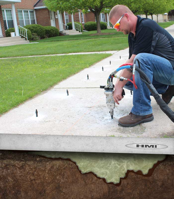 Concrete Lifting Contractor in Battle Creek MI