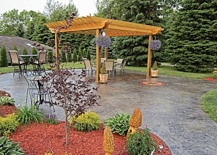 Battle Creek, MI Concrete Patio Contractors
