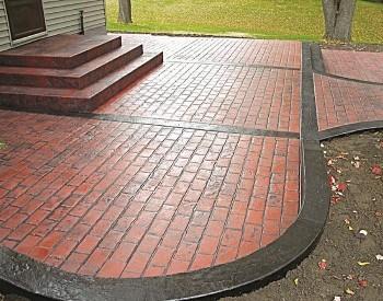 Stamped Concrete Contractors Battle Creek